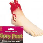 Severed Gory Foot