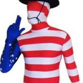 Expecting delivery Morphsuit Usa - Adult Costume