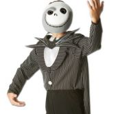 Jack Skellington Halloween Adult Costume Nightmare before Christmas