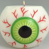 Molded Candle Glowing Eye Ball 10cm