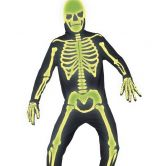 Graveyard Bones Skeleton Gothic Manor Costume