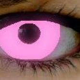 Pink UV fashion lenses