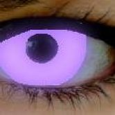 Violet UV fashion lenses