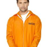 Escaped Prisoner Orange Boiler Suit