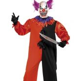 Cirque Sinister Scary Bo Bo the Clown Adult Costume