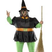 Inflatable Witch Halloween Adult Costume