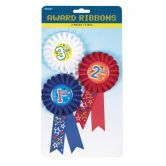 Award Ribbon Pack 1st, 2nd & 3rd